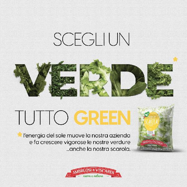 """Il Nostro Verde è tutto Green, si fa presto a dire Green: """"Verde"""" è un colore... """"Green""""ormai è un """"modus operandi"""""""