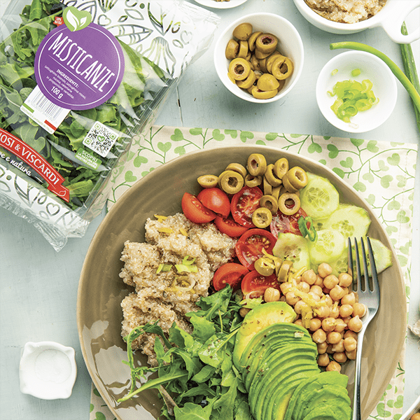 Ricetta quinoa avocado e ceci